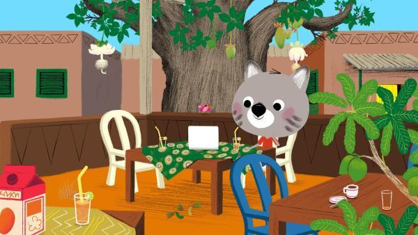 Chavapa plant eine Geburtstagsparty für Mouk. | Rechte: KiKA/Millimages