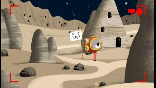 Chavapa fühlt sich, als wäre er auf dem Mond. | Rechte: KiKA/Millimages