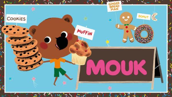 Mouk  mit Muffins und Keksen | Rechte: KiKA/Millimages