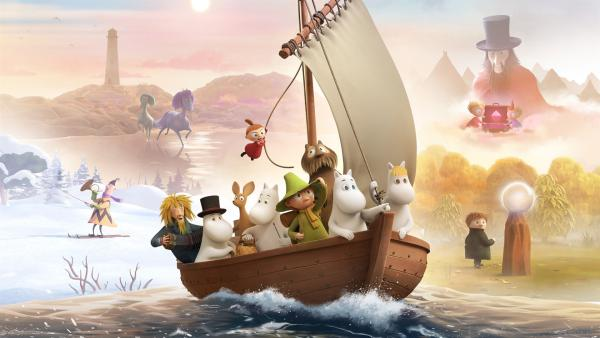 Mumintal - die Mumins segeln in neue Abenteuer. | Rechte: ZDF/Moomin Characters/Gutsy Animations 2019