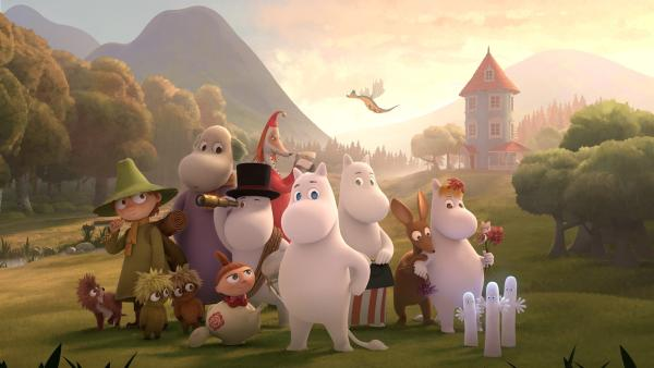 Mumintal - die fantastischen Abenteuer der Mumins. | Rechte: ZDF/Moomin Characters/Gutsy Animations