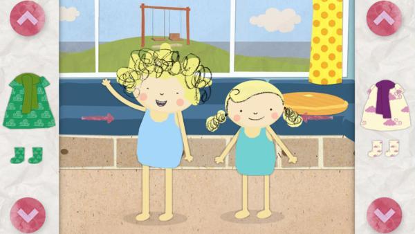 Wetterspiele mit Nele & Nora | Rechte: KiKA/Geronimo Productions