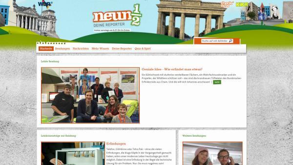 wdr Neuneinhalb Sendungshomepage | Rechte: KiKA