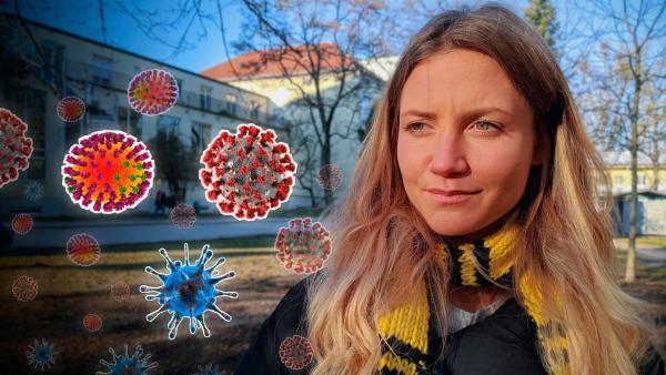Reporterin Jana ist den Viren auf der Spur. | Rechte: WDR/tvision