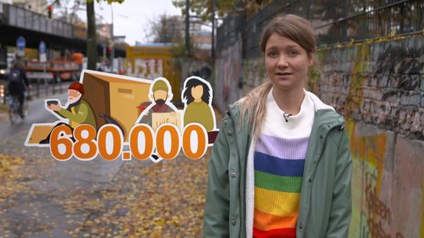 Tausende Menschen - darunter auch Kinder und Jugendliche - leben in Deutschland auf der Straße. Jana findet heraus, wie es ist, auf der Straße zu leben und wie man helfen kann. | Rechte: WDR/tvision