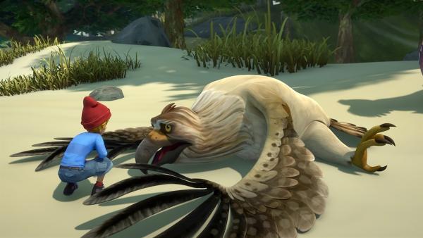 Gorgo denkt, er sei ein Fettklops. | Rechte: BR/Studio 100 Animation/Studio 100 NV