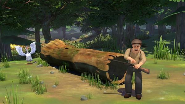 Martin hat sich vorgenommen, etwas Heldenhaftes zu tun. Dabei bringt er sich in große Gefahr. | Rechte: BR/Studio 100 Animation/Studio 100 NV
