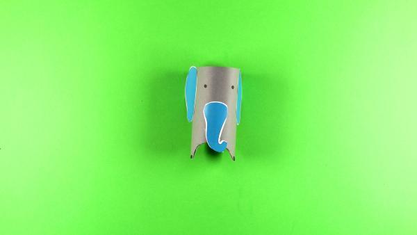 Elefanten basteln | Rechte: KiKA/Nicole Bock