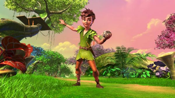 Peter Pan erlebt Abenteuer in Nimmerland. | Rechte: ZDF/method Film / DQ Entertainent