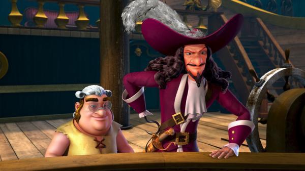 Captain Hook uns sein Koch, Smee | Rechte: ZDF/method Film / DQ Entertainent