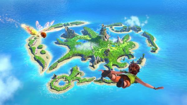 Peter Pan im Anflug auf sein geliebtes Nimmerland | Rechte: ZDF/method Film/DQ Entertainent