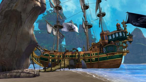 Das Piratenschiff von Captain Hook und seiner Bande | Rechte: ZDF/method Film/DQ Entertainent