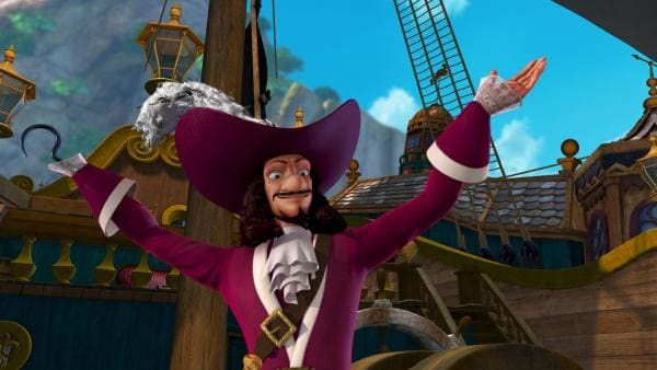 Captain James Hook, Peter Pans ewiger Widersacher   Rechte: ZDF/method Film/DQ Entertainent
