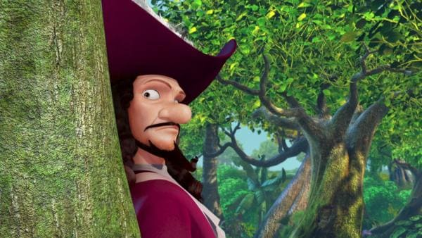 Captain Hook in Hab-Acht-Stellung. | Rechte: ZDF/method Film/DQ Entertainment