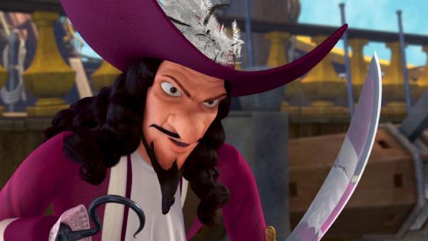 Captain Hook ist zum Angriff bereit. | Rechte: ZDF/method Film/DQ Entertainment