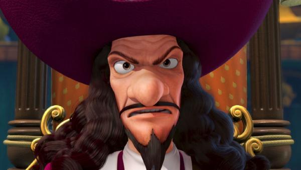 Captain Hook schaut aus, als sehe er einen Geist. Und tatsächlich... | Rechte: ZDF/method Film/DQ Entertainment