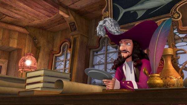 Captain Hook schmiedet einen Plan, wie er endlich zum bewunderten Helden werden kann. | Rechte: ZDF/method Film/DQ Entertainment