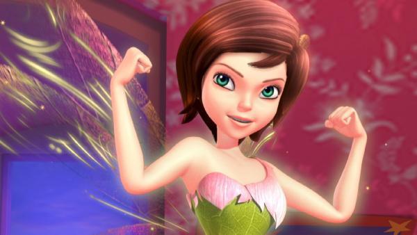 Tinker Bell in Siegerpose. | Rechte: ZDF/method Film/DQ Entertainment