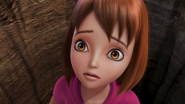Wendy hat Angst um Peter Pan. | Rechte: ZDF/method Film/DQ Entertainment