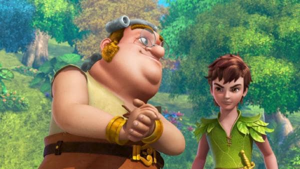 Smee erklärt Peter Pan was sein Boss, Captain Hook, vor hat. | Rechte: ZDF/method Film/DQ Entertainment