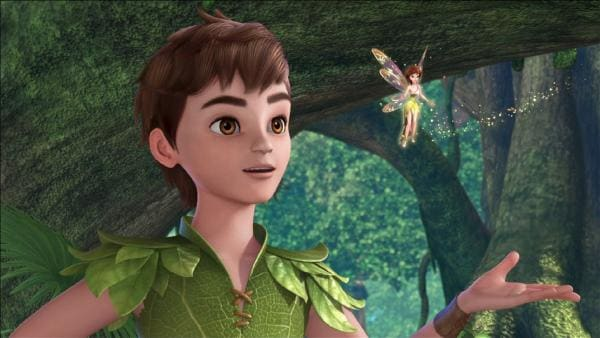 Peter Pan und Tinker Bell. | Rechte: ZDF/method Film/DQ Entertainment