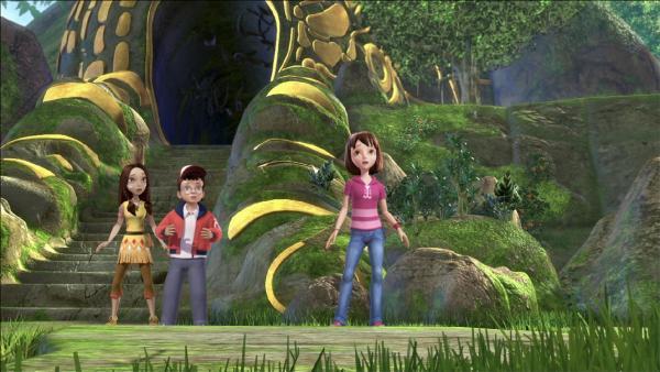 Wendy, John und Lily haben Angst. | Rechte: ZDF/method Film/DQ Entertainment