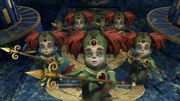 Die Chumbas in ihrem Tempel. | Rechte: ZDF/method Film/DQ Entertainment