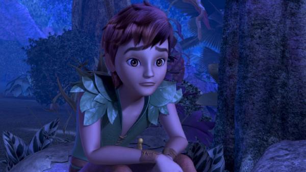 Peter Pan hat seinen Schatten und damit seine Kräfte und die Fähigkeit zu fliegen, verloren. | Rechte: ZDF/method Film/DQ Entertainment