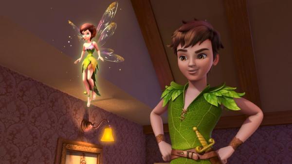 Peter Pan und Wendy sind bei den Darling-Kinder gelandet und wollen sie mit nach Nimmerland nehmen. | Rechte: ZDF/method Film/DQ Entertainment