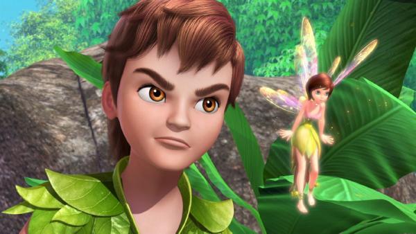 Peter Pan und Tinker Bell müssen den Filmbösewicht Synapse wieder einfangen. | Rechte: ZDF/method Film/DQ Entertainment
