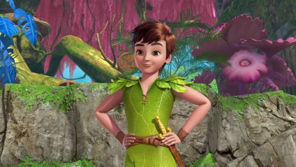 Peter Pan freut sich über den geretteten Fantasiebaum. | Rechte: ZDF/method Film/DQ Entertainment