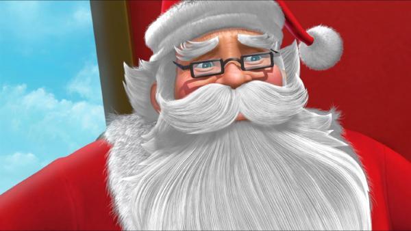 Der Weihnachtsmann macht auch Station in Nimmerland. | Rechte: ZDF/method Film/DQ Entertainment