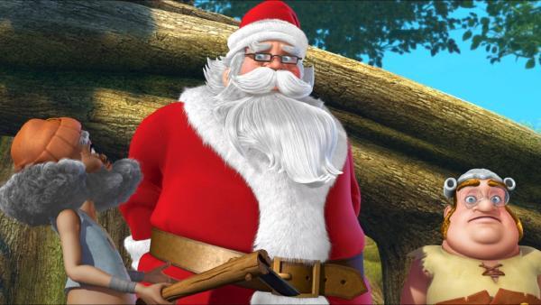 Smee und sein Piratenkollege sollen den Weihnachtsmann entführen. | Rechte: ZDF/method Film/DQ Entertainment