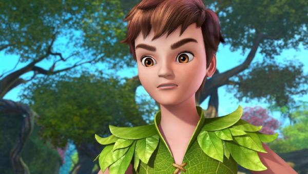 Peter Pan ist nachdenklich: Wo ist der Weihnachtsmann? | Rechte: ZDF/method Film/DQ Entertainment