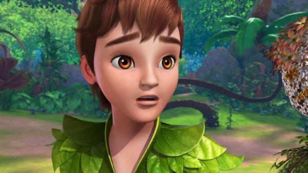 Peter Pan macht eine beunruhigende Entdeckung.   Rechte: ZDF/method Film/DQ Entertainment