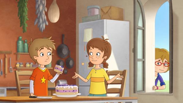 Lea und Luis planen ein Überraschungspicknick: Wenn das keine Überraschung wird! | Rechte: ZDF/Akkord Film/Bastei Lübbe AG