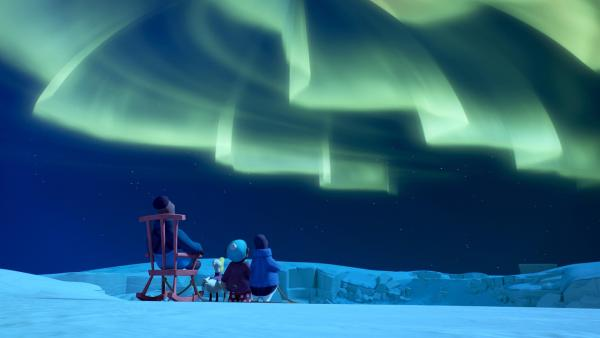 Was wäre der Nordpol ohne das Nordlicht am Himmel? | Rechte: ZDF/Studio SOI