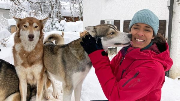 Sibirischer Husky / Sibirische Huskys sind sehr sozial und super verschmust.<br/>| Bild: BR / Text und Bild Medienproduktion GmbH & Co. KG | Rechte: BR / Text und Bild Medienproduktion GmbH & Co. KG