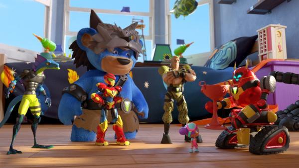 Der neunjährige Axel kann mit einer geheimnisvollen Energiequelle - der Minergie - Spielfiguren zum Leben erwecken. | Rechte: WDR