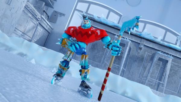 Eis-Crusher fordert die Power Players heraus.   Rechte: WDR/WDRmg/Zagtoon/Method