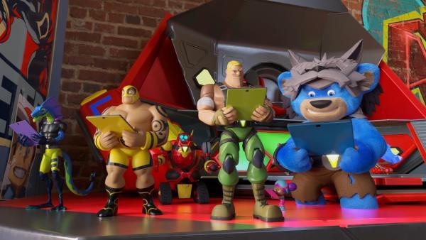 Die Power Players sind fasziniert von ihrem neuen Spielzeug. | Rechte: WDR/WDRmg/Zagtoon/Method