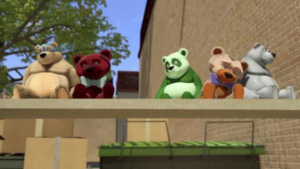 Diese Teddysammlung kommt den Power Players bekannt vor! | Rechte: WDR/WDRmg/Zagtoon/Method