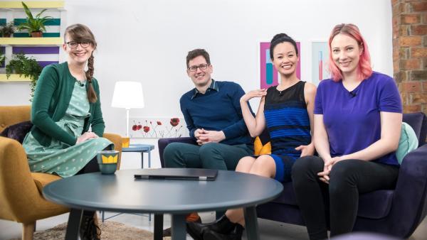 Ist das Kleid blau oder gelb? Wie unterschiedlich unsere Farbwahrnehmung sein kann, erklärt Psychologe Dr. Christoph Witzel. | Rechte: ZDF/Martin Vogel