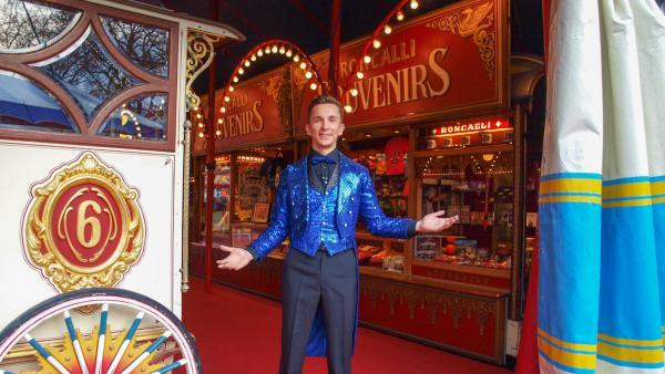 Eric als Zirkusdirektor | Rechte: ZDF