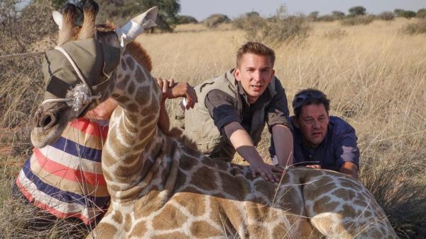 Eric rettet Giraffen | Rechte: ZDF