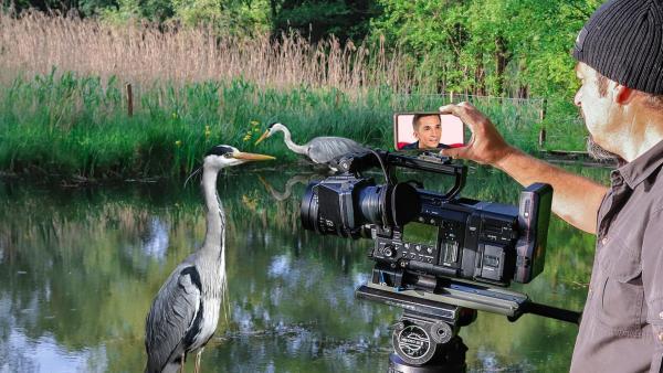 PUR+ - Tierfilmer - Neue Bühne | Rechte: ZDF