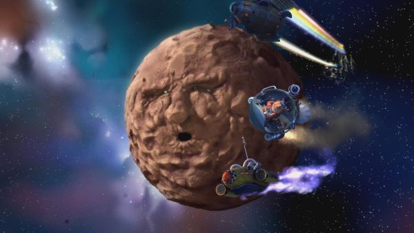 Start frei für das große Weltraumrennen! | Rechte: KiKA/Snapper Productions/Q Pootle 5 LTD