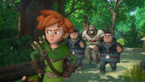 Robin Hood - Schlitzohr von Sherwood | Rechte: ZDF/Method Animation/DQ Entertainment/Fabrique d'images/ZDF Enterprises/De Agostini
