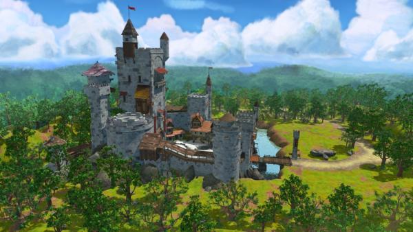 Schloss Nottingham   Rechte: ZDF/Method Animation/DQ Entertainment/Fabrique d'images/ZDF Enterprises/De Agostini