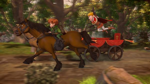Prinz John gibt nicht auf. Er will Robin Hood unbedingt fangen. | Rechte: ZDF/Method Animation/DQ Entertainment/Fabrique d'images/ZDF Enterprises/De Agostini